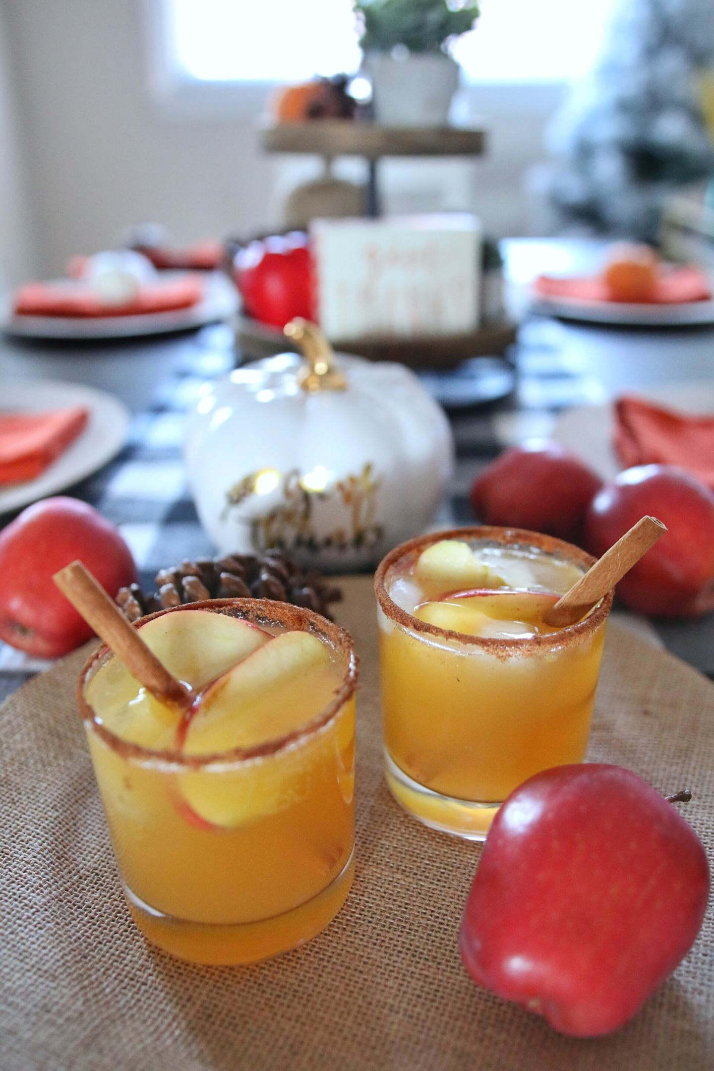 Thanksgiving Cocktail Idea: Harvest Punch