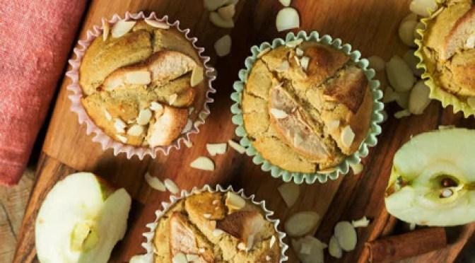 Receita Paleo – Muffins de maçã