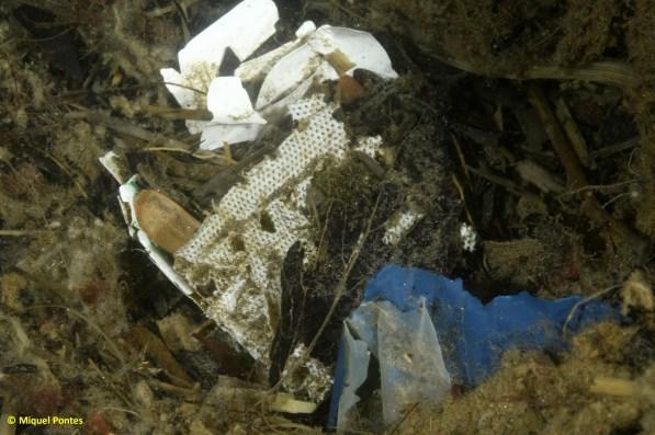 Deixalles, compresa i altres restes de plàstic