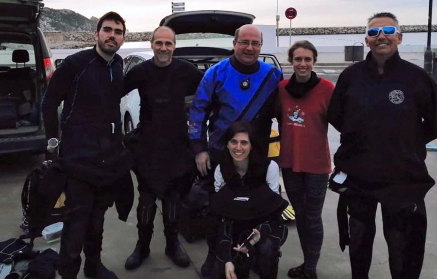 Participants al mostreig al Carall Bernat