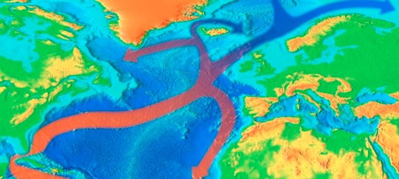 La corriente del Golfo y su efecto sobre el clima en el Atlántico. NOAA