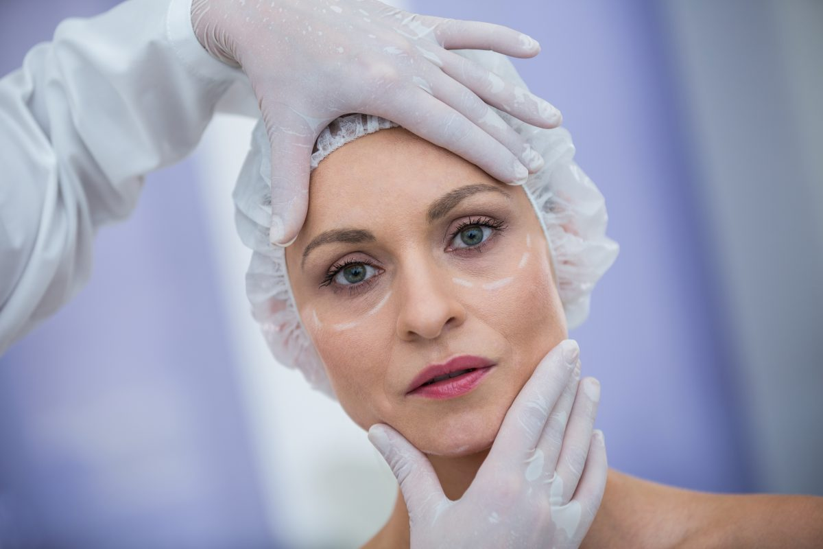 cirugia de lifting facial