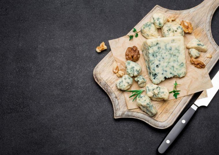Roquefort y nueces