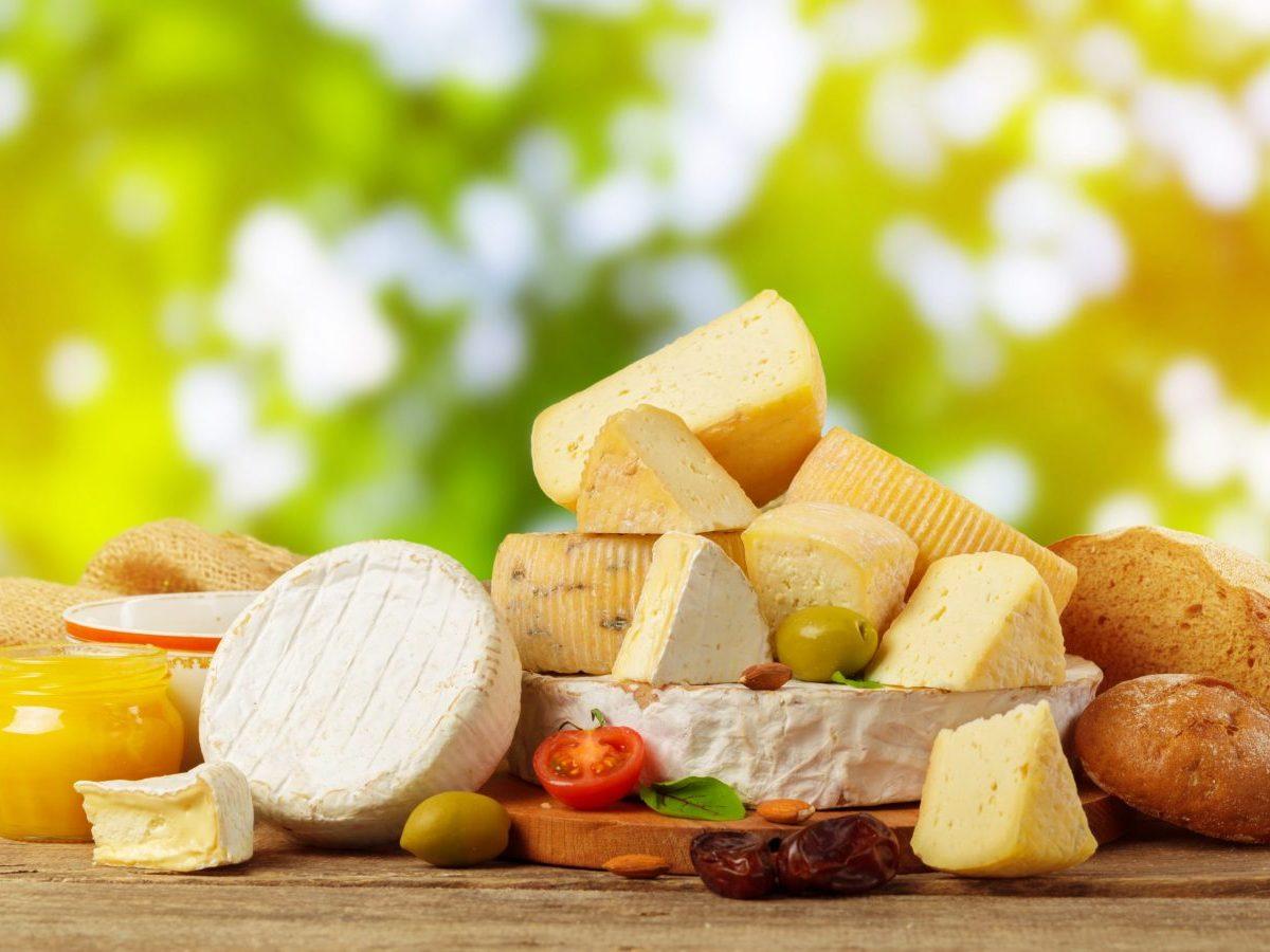 variedad de los quesos
