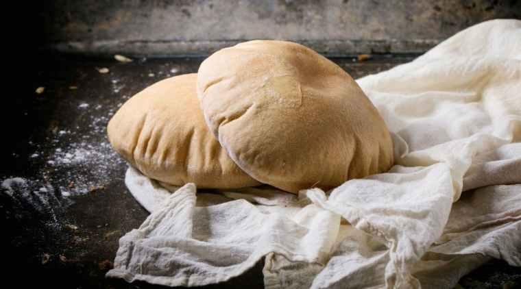 receta de pan pita