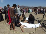 San Ignacio: Station 13—Jesus' body is removed from the cross, photo credit Mazatlán Interactivo