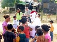 Santa consults