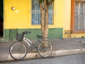 Bike awaiting its rider