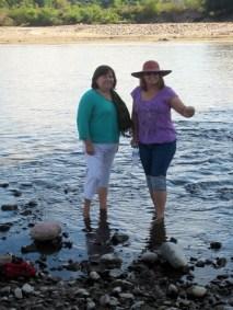 Mermaids at the river?