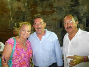 Dianne, Arturo Garduño and Mario Martini