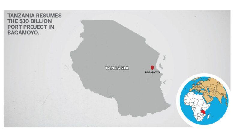 Map of Bagamoyo Tanzania