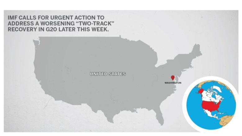 Map of Washington US