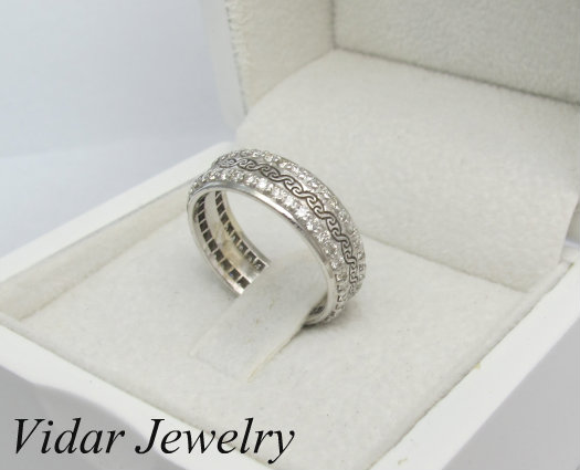 Womens Diamonds Wedding Band Vidar Jewelry Unique