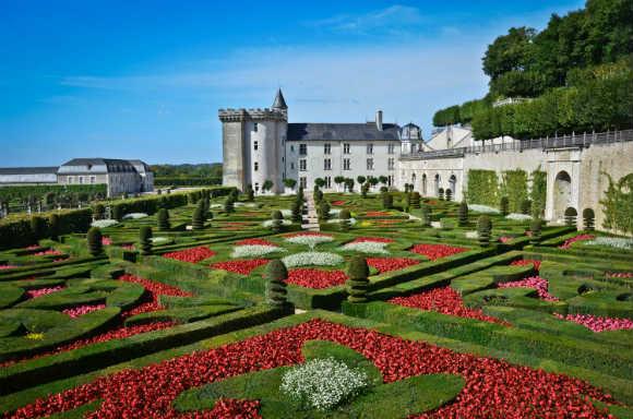 10 jardins Jardins do Chateau Villandry na França - vida saude e bem estar