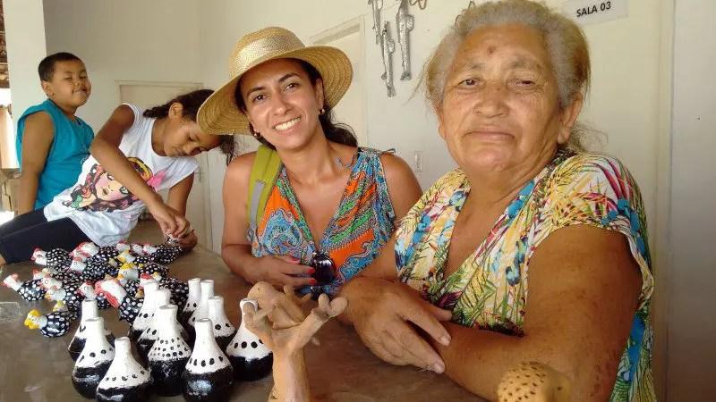 Mestre artesã Irinéia