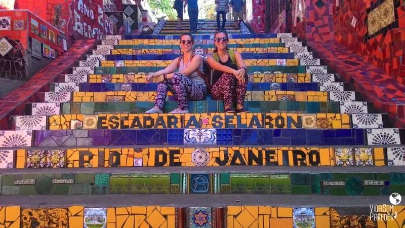 Atrações gratuitas no Rio de Janeiro - Escadaria Selarón