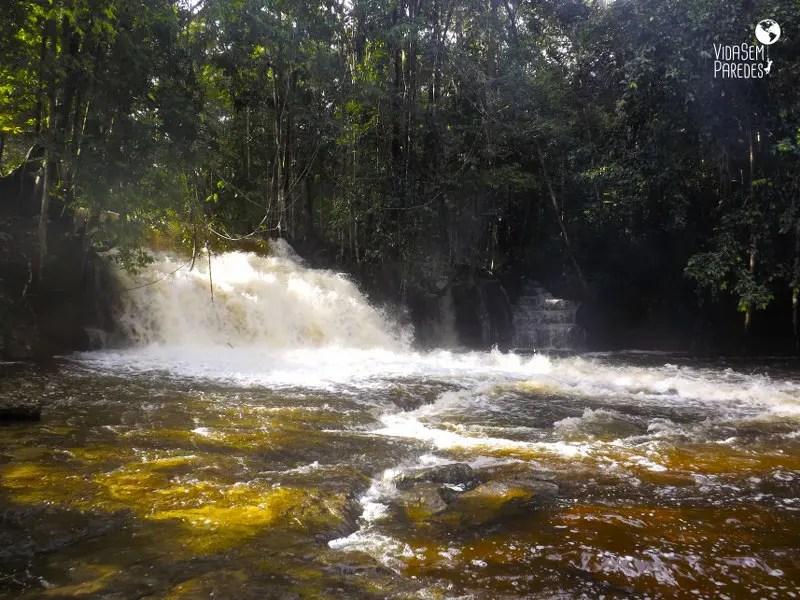 cachoeiras em Presidente Figueiredo - AM: Cachoeira da Asframa