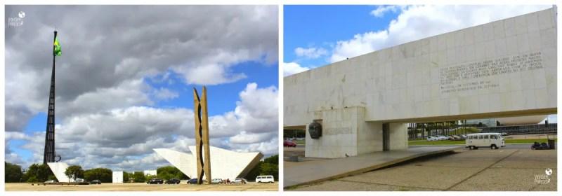 Praça dos Três Poderes,  Atrações em Brasília - DF