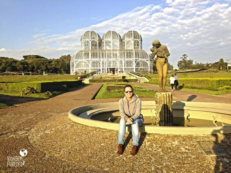 parques de Curitiba - Paraná: Jardim Botânico