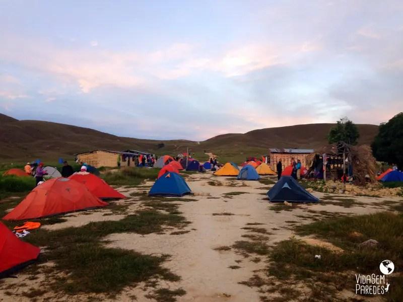 acampamentos Monte Roraima