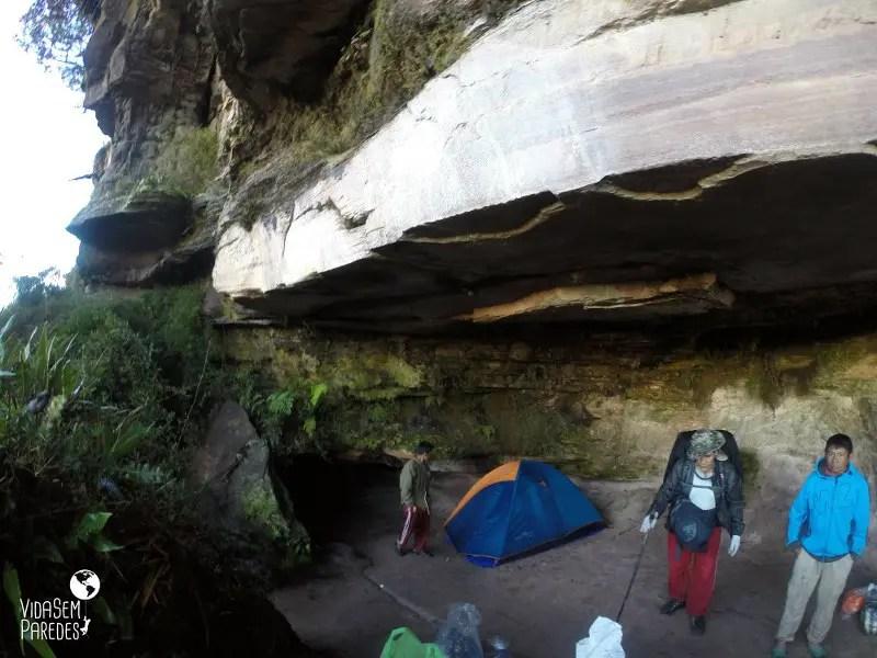 acampamentos no Monte Roraima : São Francisco