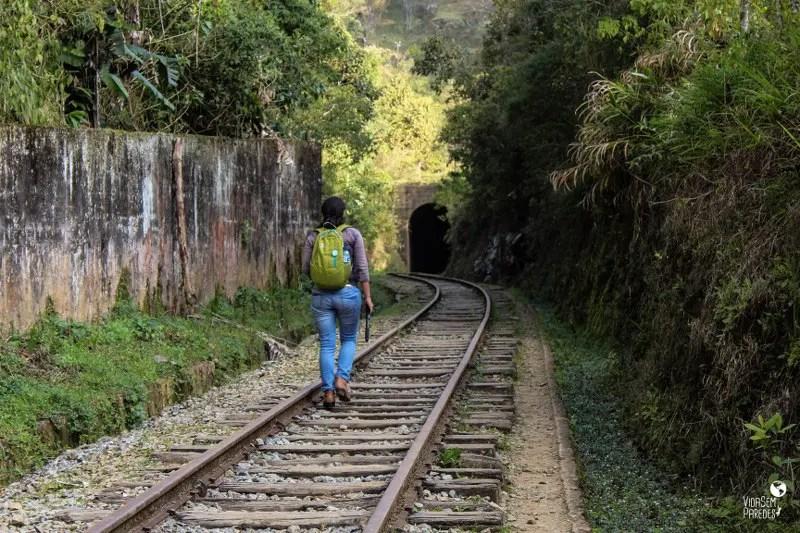 Túnel da Mantiqueira, Passeio no Trem da Serra da Mantiqueira, A Maria-Fumaça de Passa Quatro (MG)