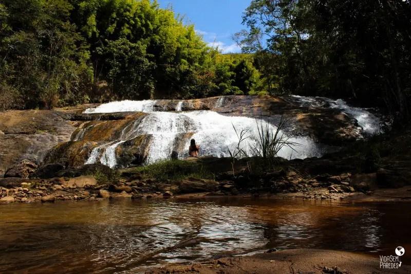 cachoeiras em Santa Rita de Jacutinga - MG: Vargem do Sobrado