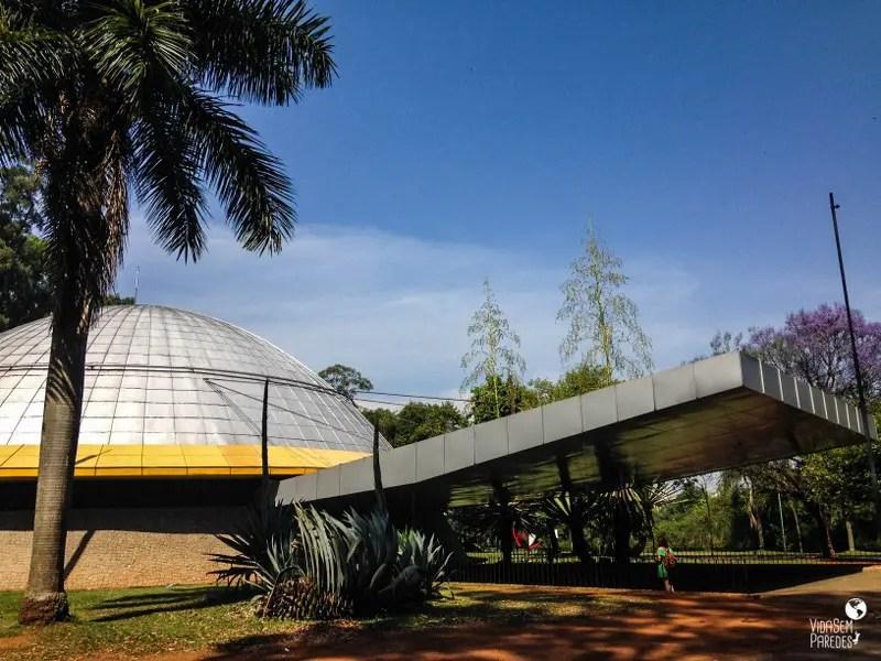 Parque Ibirapuera - São Paulo: Planetário