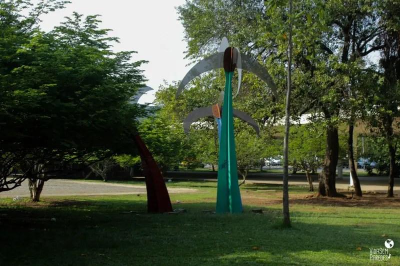 Parque Ibirapuera - São Paulo: Jardim das Esculturas