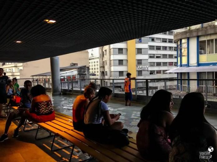 atrações para conhecer a pé no centro de São Paulo: SESC 24 de Maio