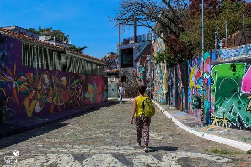 Roteiro em São Paulo: Beco do Batman