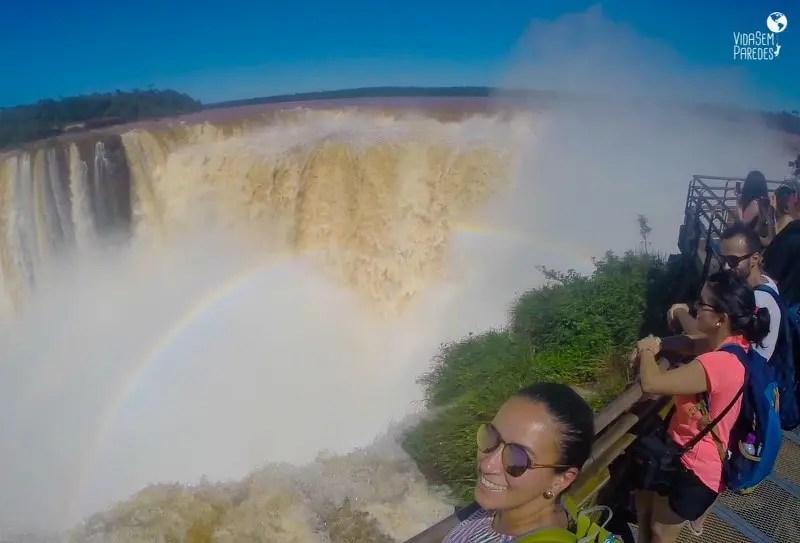 Parque Nacional Iguazú: cataratas Argentinas, Garganta do Diabo