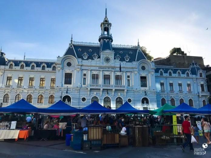 O que fazer em Valparaíso, Chile: Plaza Sotomayor