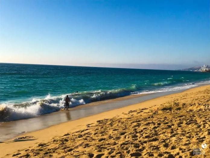 Melhores pontos turísticos em Viña del Mar, Chile: Playa Los Enamorados