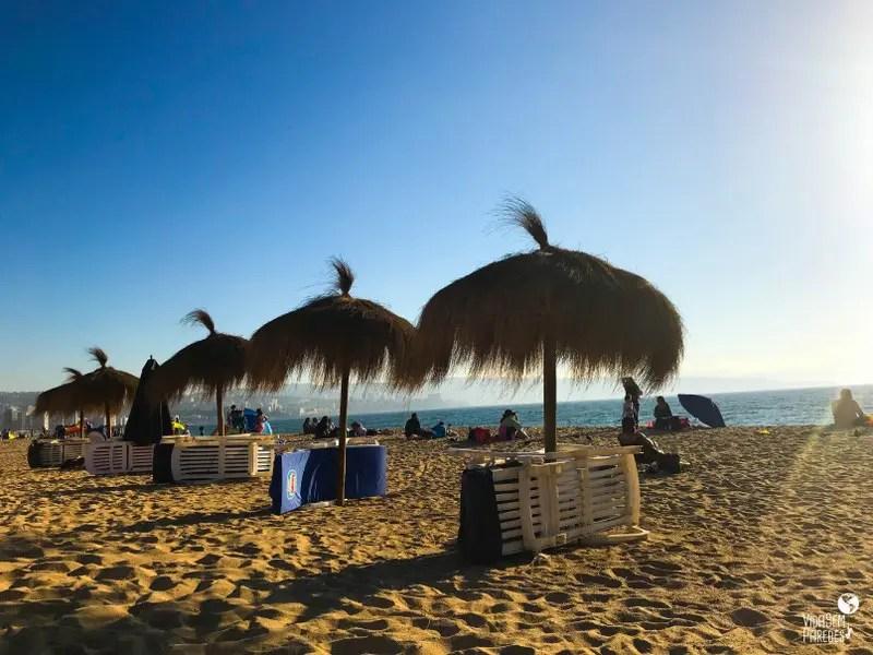 Melhores pontos turísticos em Viña del Mar, Chile: Playa Reñaca