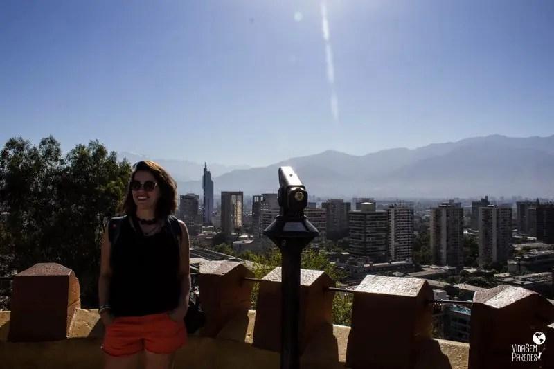 3 mirantes para ver a Cordilheira dos Andes em Santiago: Cerro Santa Lucía