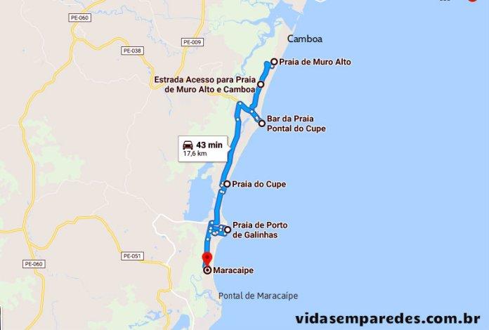 Onde ficar em Porto de Galinhas: comparativo de regiões
