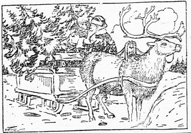 Rudolph, la rena de la nariz roja.