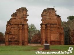 Entrada a las Misiones Jésuítico Guaraníes