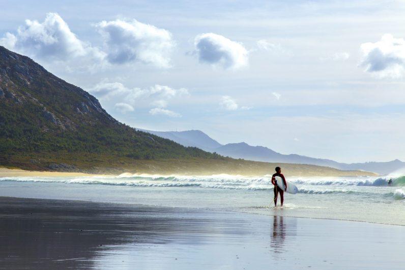 Surf Praia Areia maior_Muros