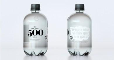 Sant Aniol apuesta por una larga vida al plástico con su nueva gamma 500 gotas