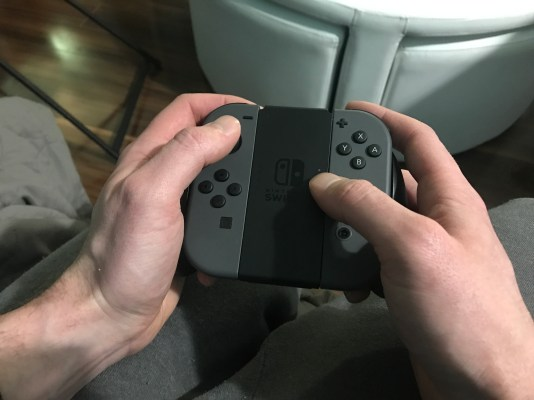 Standard controller set up in my hands