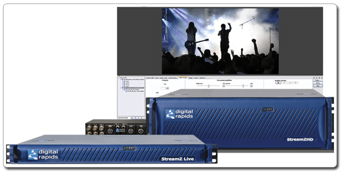 Encoding, Transcoding & Streaming - Digital Rapids
