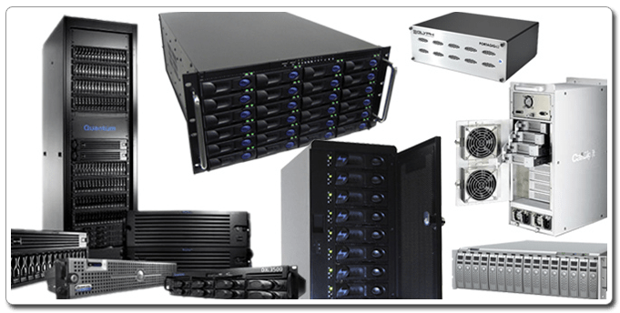 Shared Storage Solutions(SAN, NAS & Direct Attached)