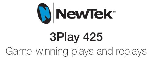 Save Big on NewTek 3Play 425 until Dec 20th!