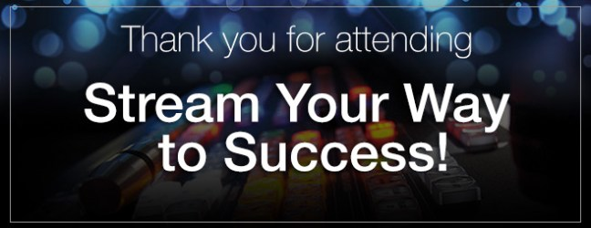 Thank you Vancouver :: NewTek Stream Your Way to Success ::