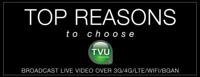 TVU Networks :: Top 10 Reasons Why TVUPack