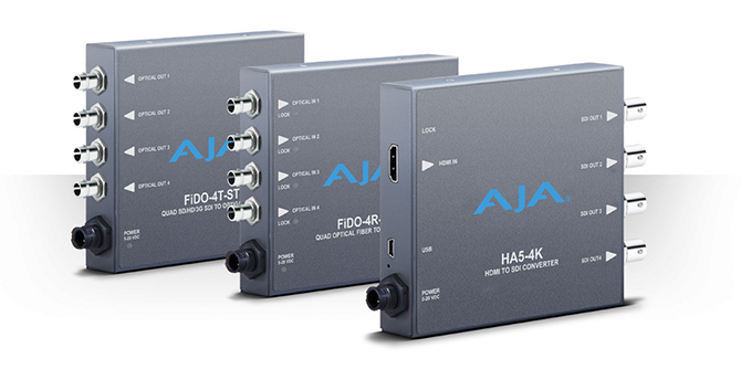 AJA :: New from NAB 2015