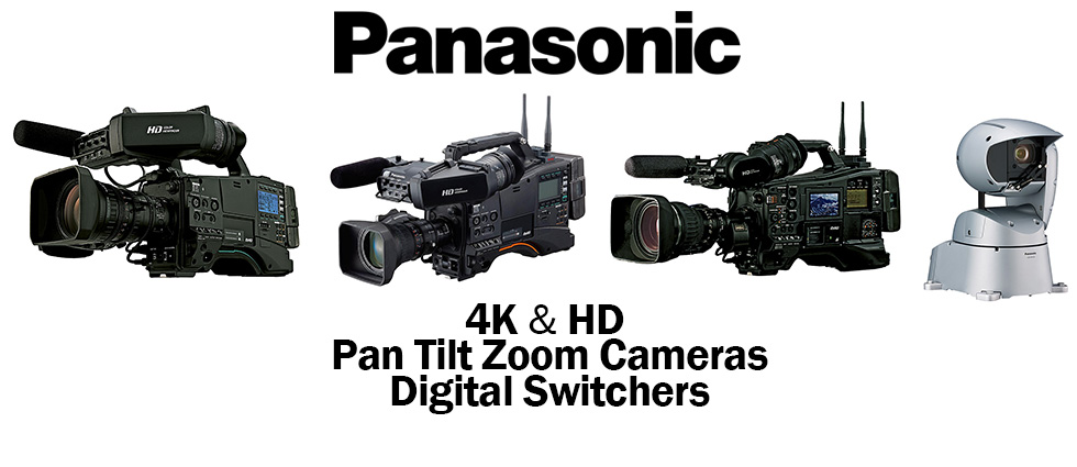Panasonic :: New 4K & HD Cameras