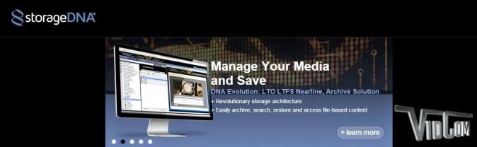 Storage DNA Next Generation LTO LTFS Nearline and Archive